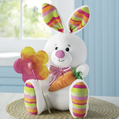 Bunny with lollipop from through the country door cs3127 easter bunny with lollipop from through the country door cs3127 easter gifteaster negle Images