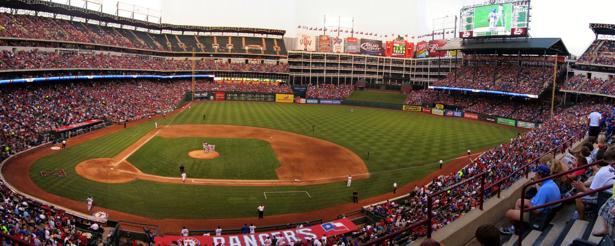 Mlb Ballpark Panoramas Ballparks Stadium Panorama