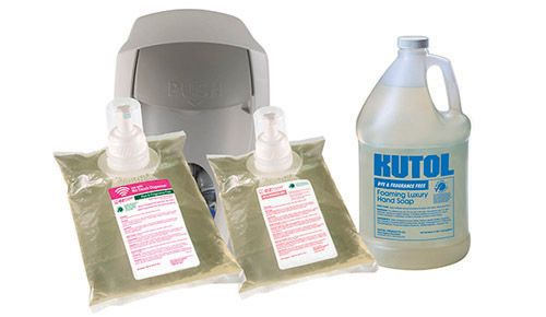 Kutol Ez Foam Luxury Hand Soap Same Great Formula As Foaming