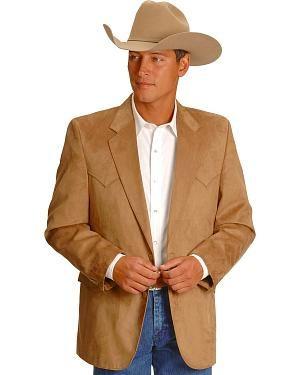 Circle S Microsuede Sport Coat - Reg, Tall | Men's Western Wear ...