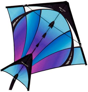 $44.99 The Switch Cold Fusion single line and dual line stunt kite by Prism Kites and Kitesrus.com: KitesRus.com
