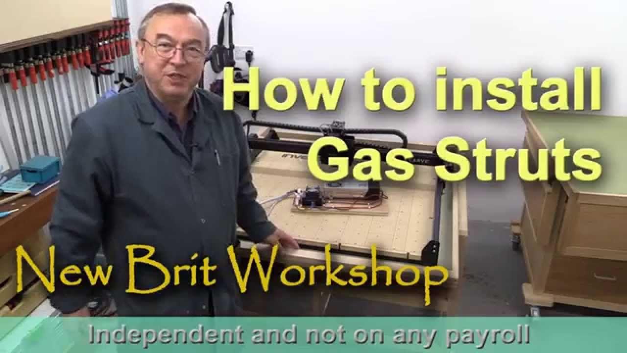 How To Install Gas Struts Attic Renovation Attic Flooring Attic Loft