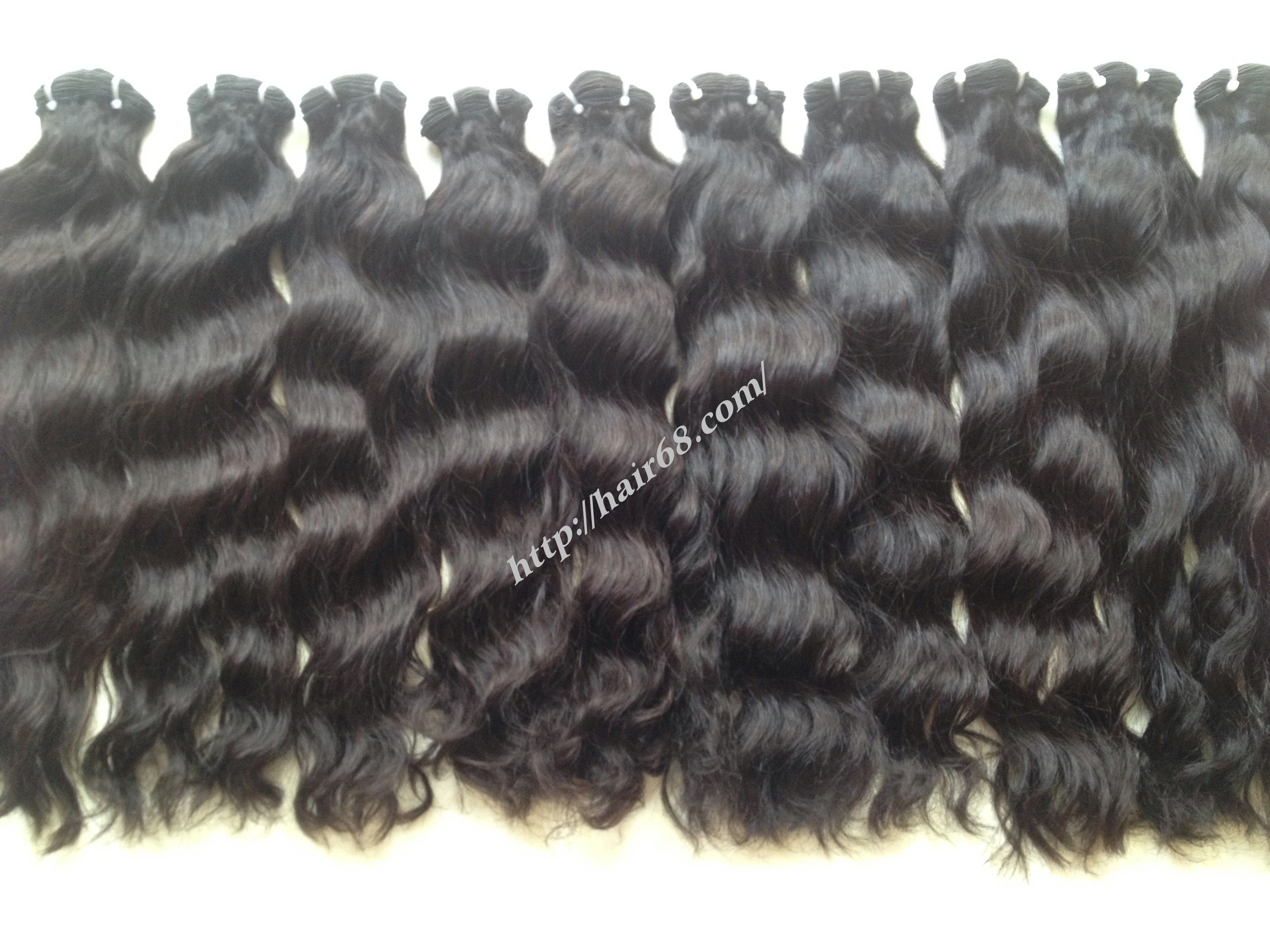 Material Human Hair Textile Silk Soft Shinning Brand Name