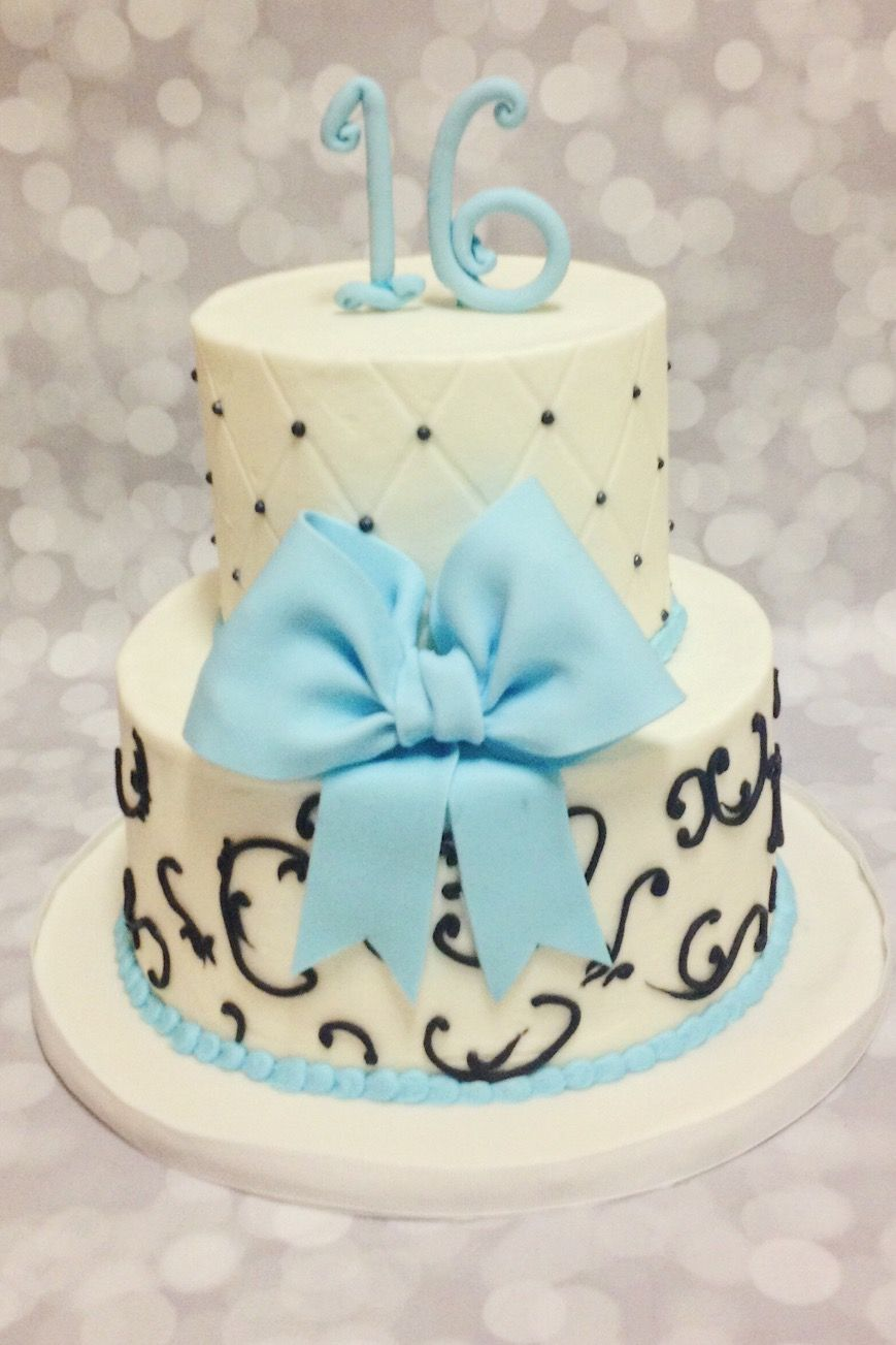 Custom Sweet Sixteen Birthday Cake By A Little Slice Of Heaven Bakery In Atlanta GA
