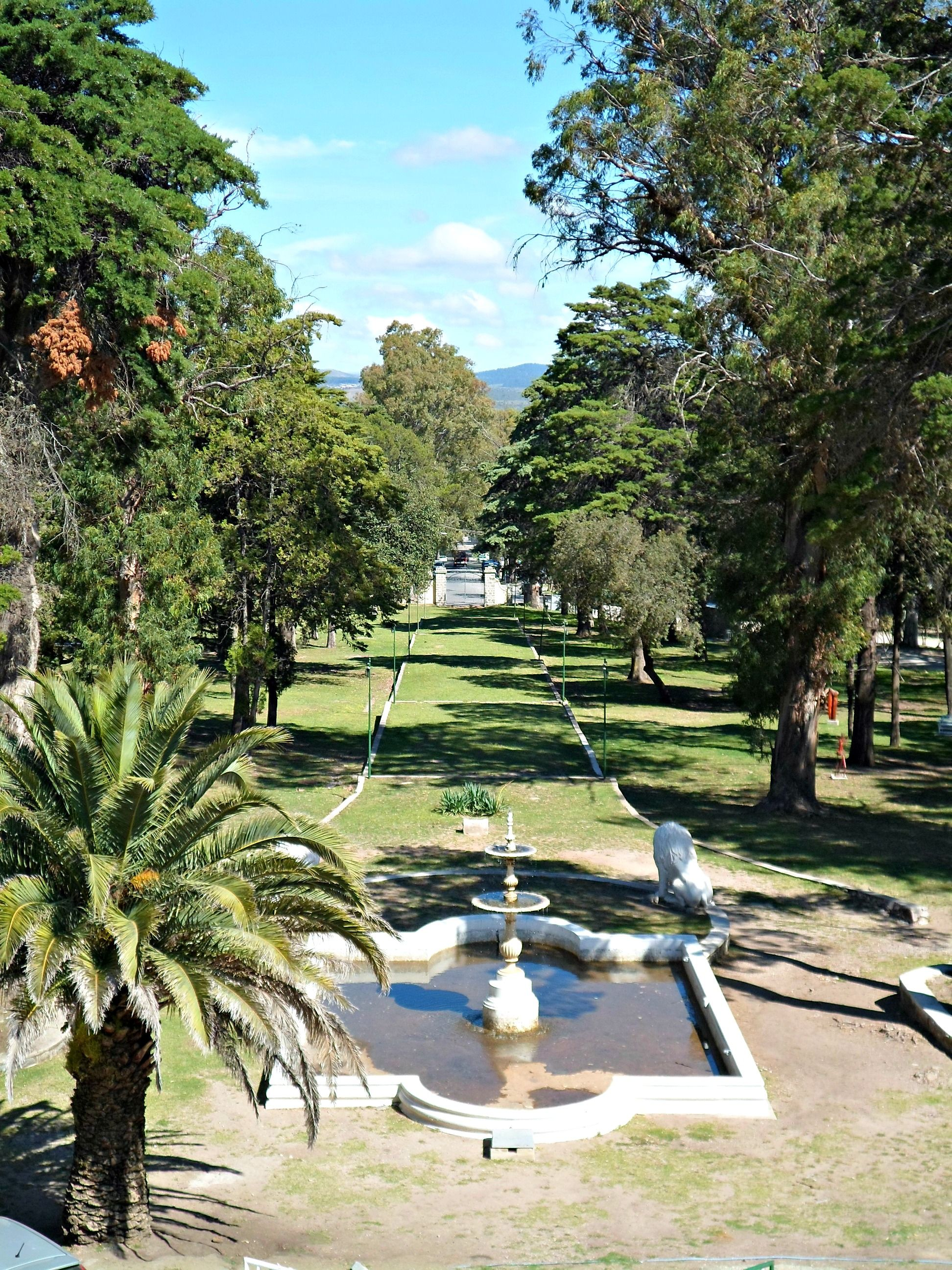 Vista De Los Jardines Del Hotel Edén Argentina Hotel Edén