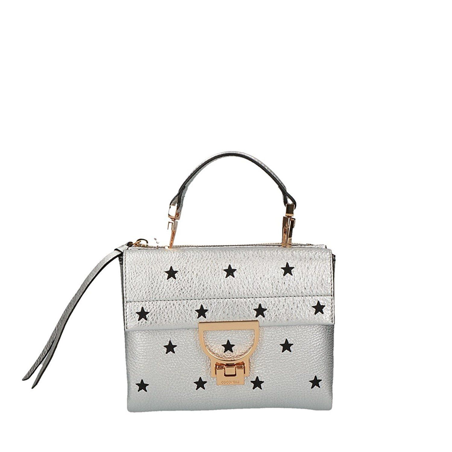91fdd665d2542 Coccinelle Arlettis Stars Embroidery crossbody white: Amazon.co.uk: Clothing