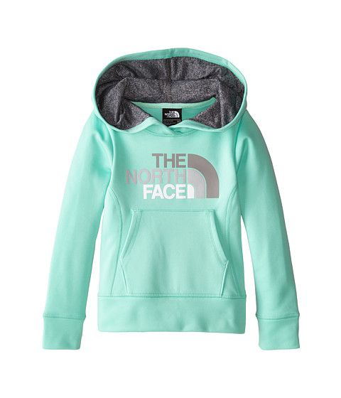 5174ca934 The North Face Kids Girls  Surgent Pullover Logo Hoodie (Little Kids ...