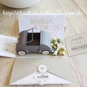 by Keksie Hochzeit Eule Auto Geldgeschenk