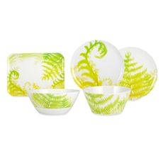 Zak Designs® Fronds Melamine Dinnerware - Bed Bath u0026 Beyond  sc 1 st  Pinterest & Zak Designs® Fronds Melamine Dinnerware - Bed Bath u0026 Beyond | Pretty ...