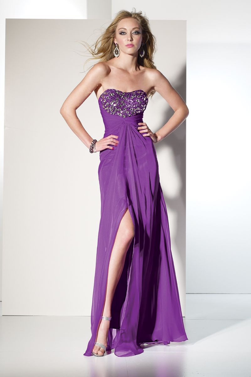 Prom Dresses Preview by B\'Dazzle 35455 Own Your Look! | Purple ...