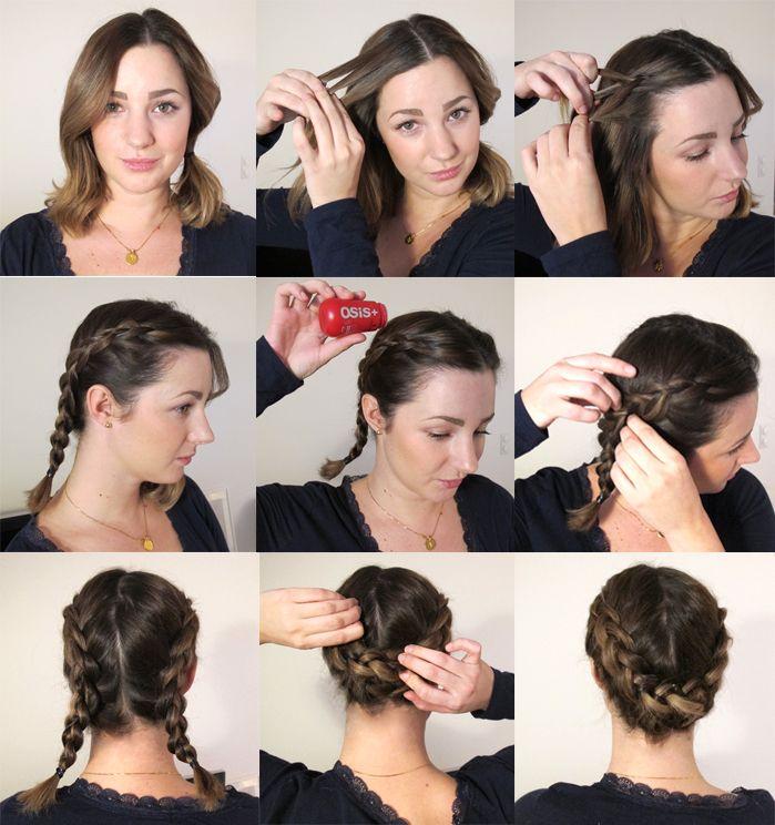 tips frisyrer halvlångt hår