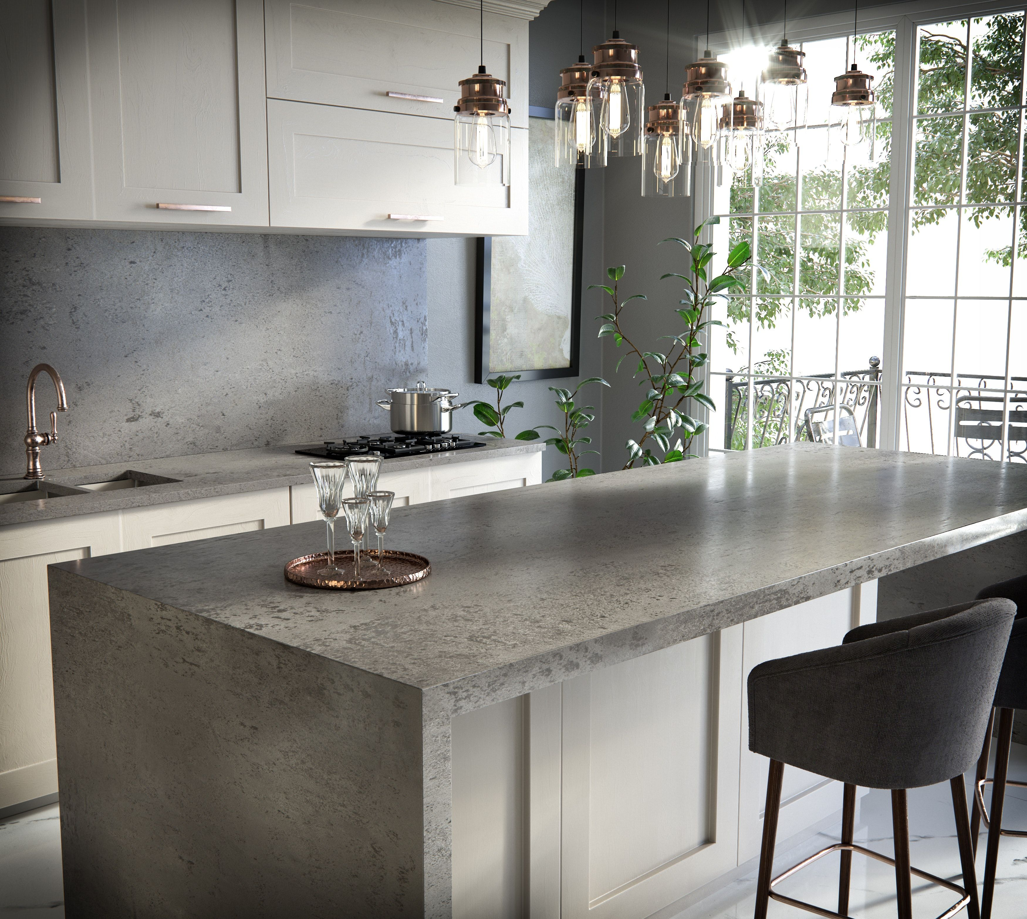 Cosentino Launches New Silestone Loft Series At The 2019 Toronto Interior Design Show Toronto Interior Design Interior Design Shows Brooklyn Kitchen