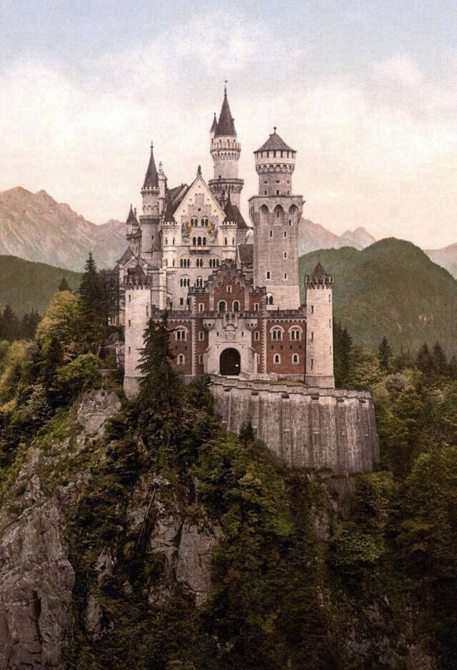 Wallpaper Germany Castles Neuschwanstein Castle Beautiful Castles