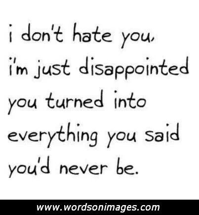 Friendship Disappointment Quotes Disappointed Friendship Quotes
