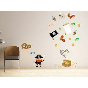 Dali Vinyl Wall Sticker 壁紙シール 壁飾りウォールステッカー Pirates