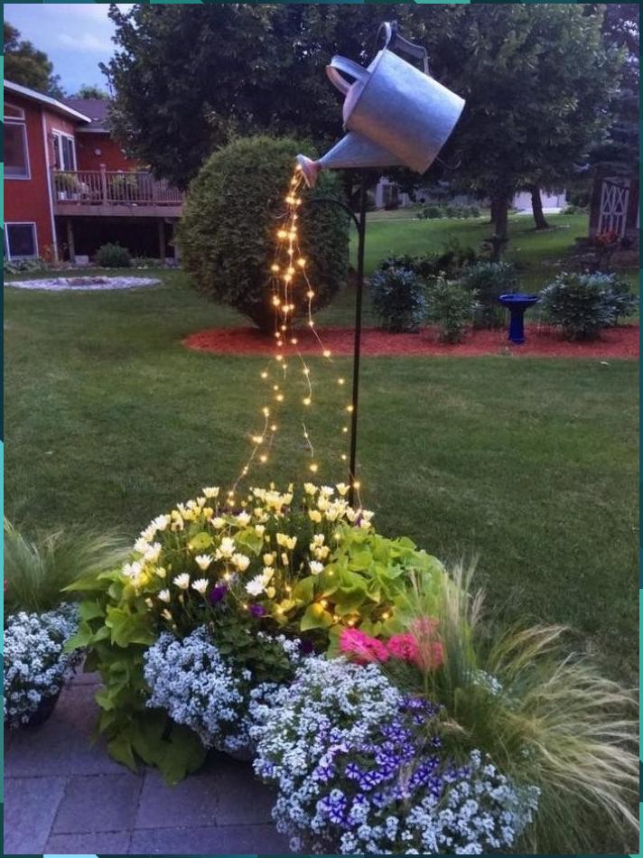 Nice Creative Lighting Ideas For The Garden Lighting Lighting Design G My Blog Beautiful In 2020 Backyard Landscaping Front Yard Landscaping Backyard Garden
