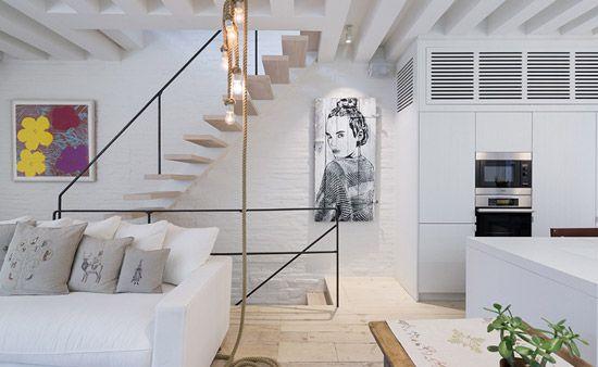 Appartement Renovatie Melbourne : Renovatie van een prachtige duplex appartement san ino