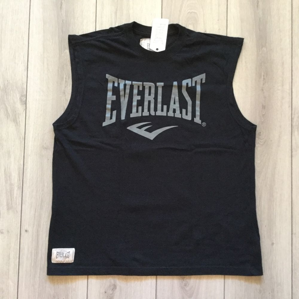 be198e9fd9002 NEW original collecting EVERLAST boxing men sleeveless t shirt tank top  Size L  fashion  clothing  shoes  accessories  mensclothing  activewear  (ebay link)