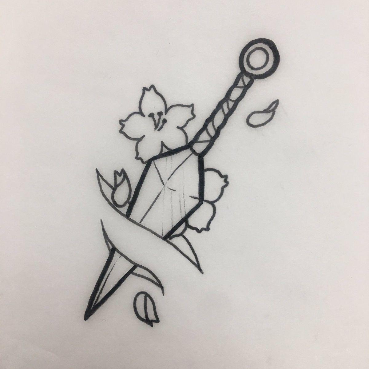 Kunai Tattoo Desenhos Simples Para Desenhar Desenhos A