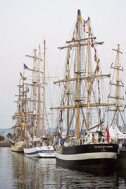 Isabel Ship Racing Sailing Tall Ships
