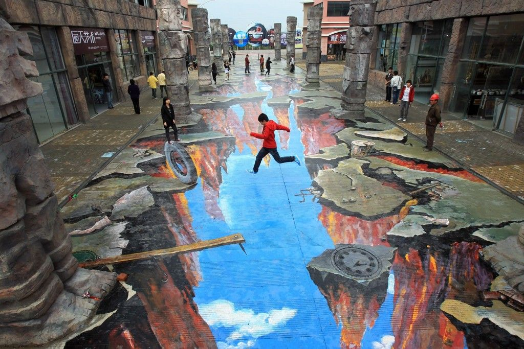 Incredible Street Art Illusions