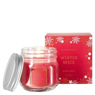 Image result for avon winter spice candle