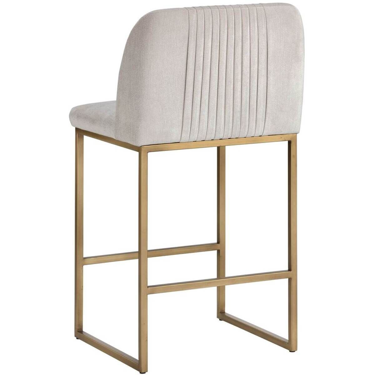 Nevin Counter Stool Polo Club Muslin In 2021 Counter Stools Modern Counter Stools Stool
