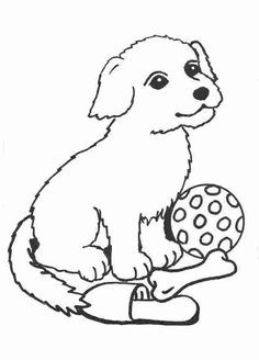 Ausmalbilder Tiere Hund | Regina | Pinterest | Coloring for kids