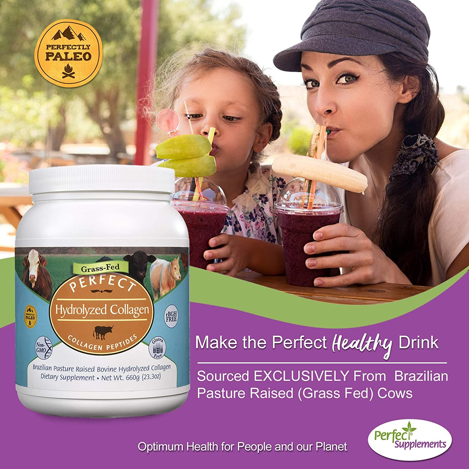 Perfect Hydrolyzed Collagen Peptides In 2020 Collagen Peptides Collagen Hydrolysate Collagen