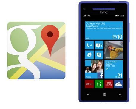 Google irá retirar bloqueios do Maps no Windows Phone