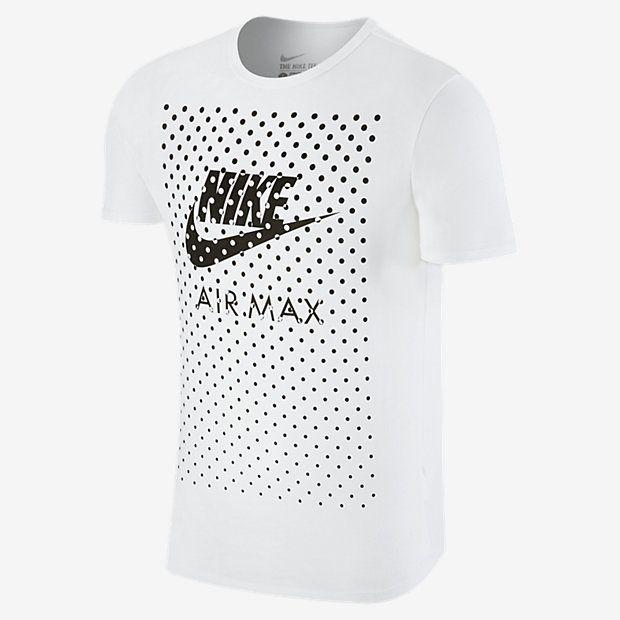 Mens Nike Air Max Remplissage Conception T-shirt