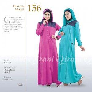 Baju Gamis Qirani Modis Model 156 Terbaru Http Distromuslimah Net