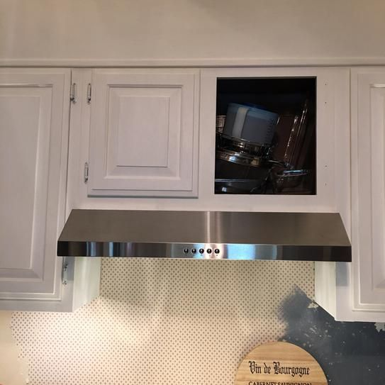 Presenza 30 In Under Cabinet Range Hood In Stainless Steel With Led Light Qr045 The Home Depot Range Hood Under Cabinet Range Hoods Led Lights