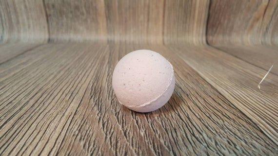 Lavender Apple Oak Small Bath Bomb, Purple Bath Bomb, Self Care, Goat Milk Bath #milkbath