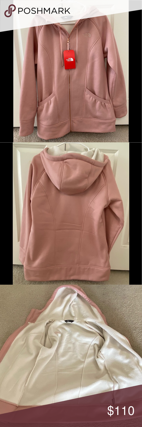 Nwt North Face Jacket Nwt North Face Jacket Front Pockets On Each Side And Inside Is Very Soft And Warm Color Is Mi North Face Jacket Clothes Design Fashion [ 1740 x 580 Pixel ]