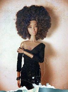 barbieafri #NaturalHair #Barbie #Doll