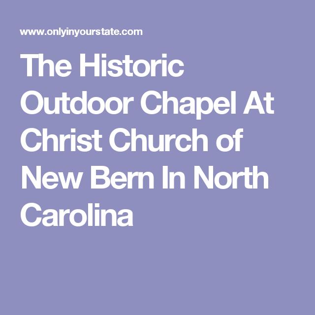 Photo of La chapelle de Caroline du Nord située dans le cadre le plus inoubliable