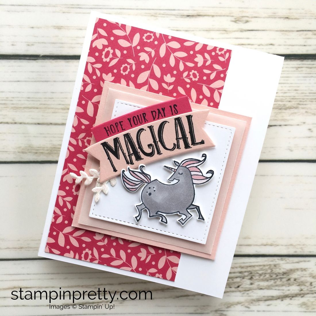 Pals Blog Hop All That Sparkles Shines Simple Birthday Cards