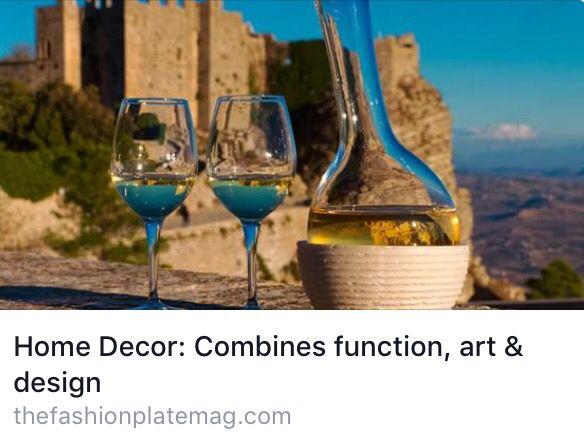 VERSANTE, DECANTER e VERSATILE... il vino visto da Gum scoperto a New York  http://thefashionplatemag.com/2015/11/01/home-decor-combines-function-art-design/