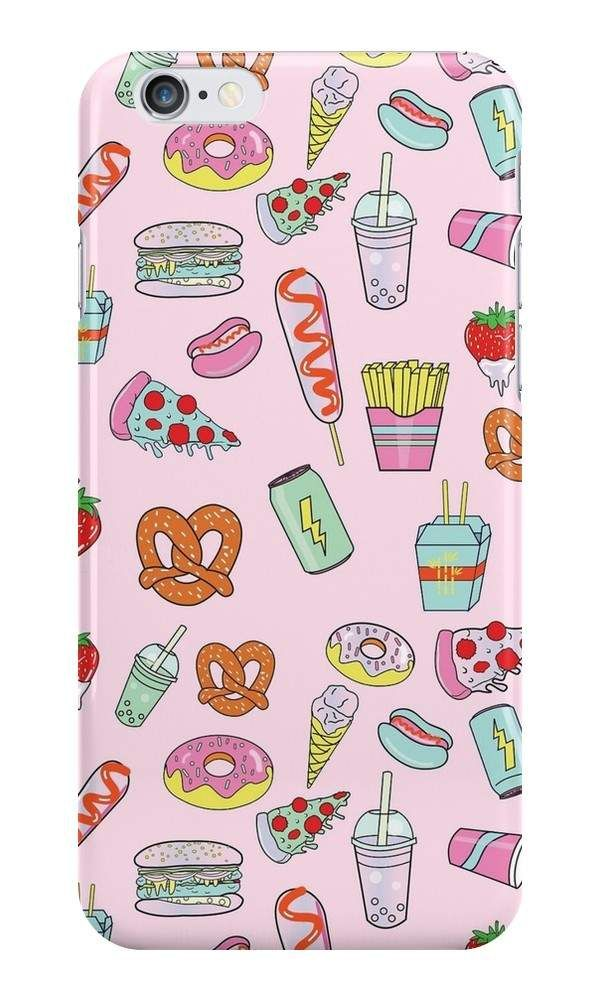 our dreaming of junk food tumblr style phone case is available online now for just a