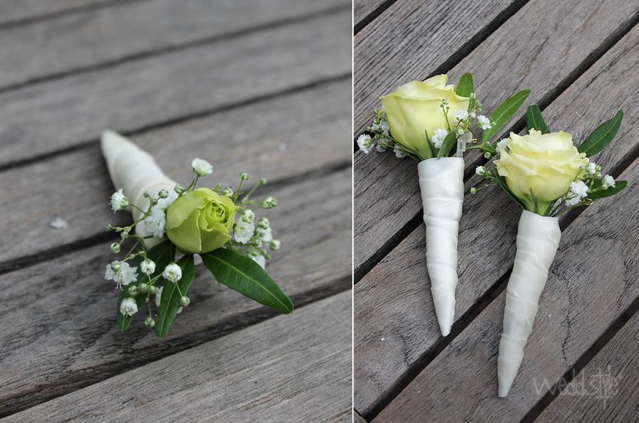 Hochzeitsanstecker Blumenanstecker für Bräutigam