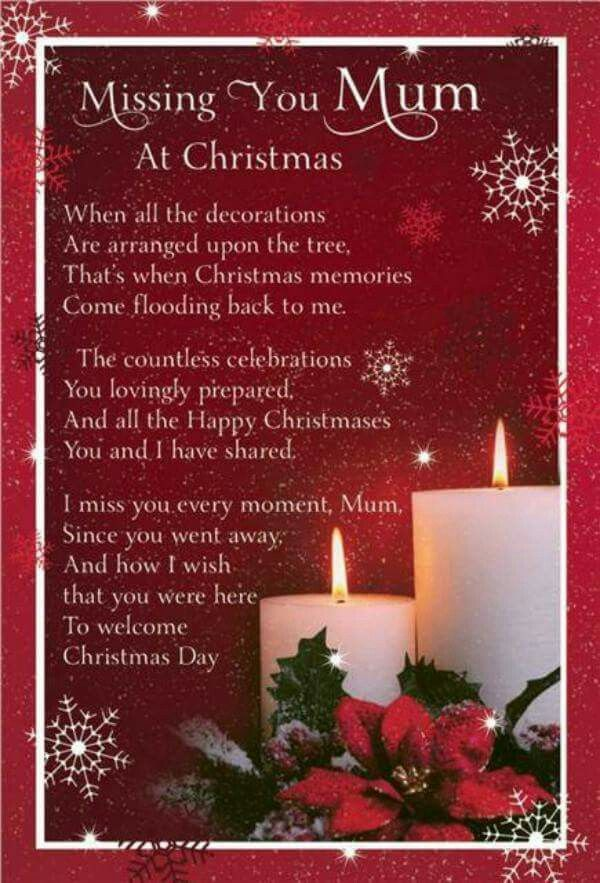 Missing Mum At Christmas Miss You Mum Miss You Mom Miss Mom
