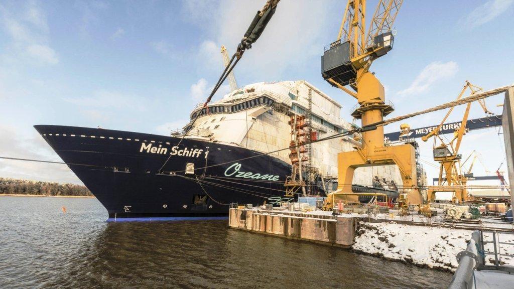 Taufreise Und Jungfernfahrt Der Neuen Mein Schiff 1 Beginnt Am 11