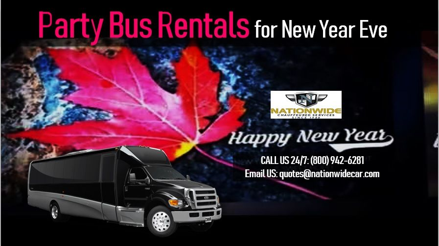 Party Bus Rentals for New Year Eve | Party bus rental ...
