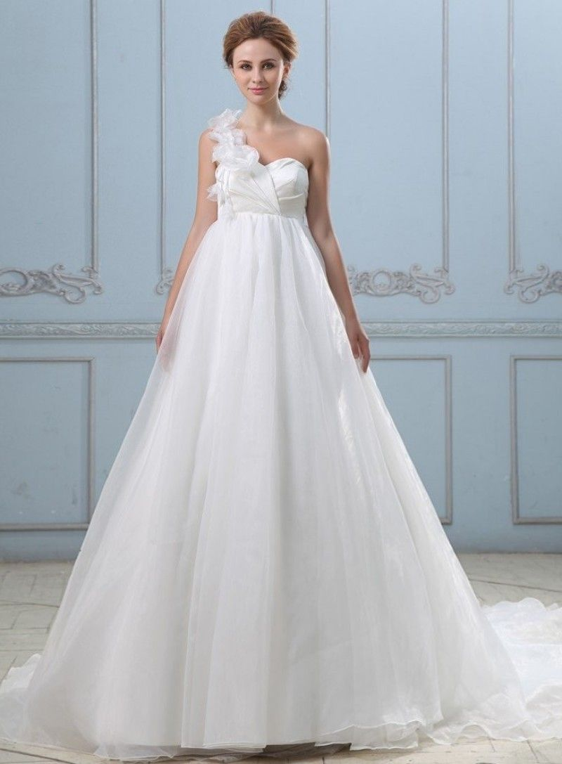 Romantic Vintage Pregnancy Wedding Dresses Cheap Chiffon Prices In ...