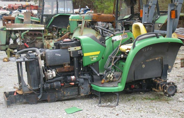 Used John Deere Parts >> This Tractor Has Been Dismantled For John Deere 4500 Tractor Parts