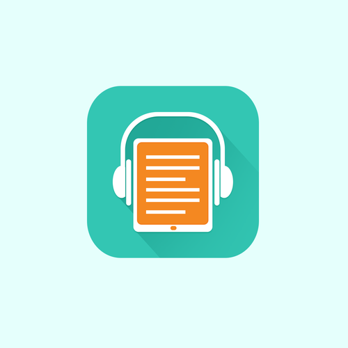 Audiobook App Icon Or Button Contest Design Icon Button Globalview App Icon Contest Design Custom Icons