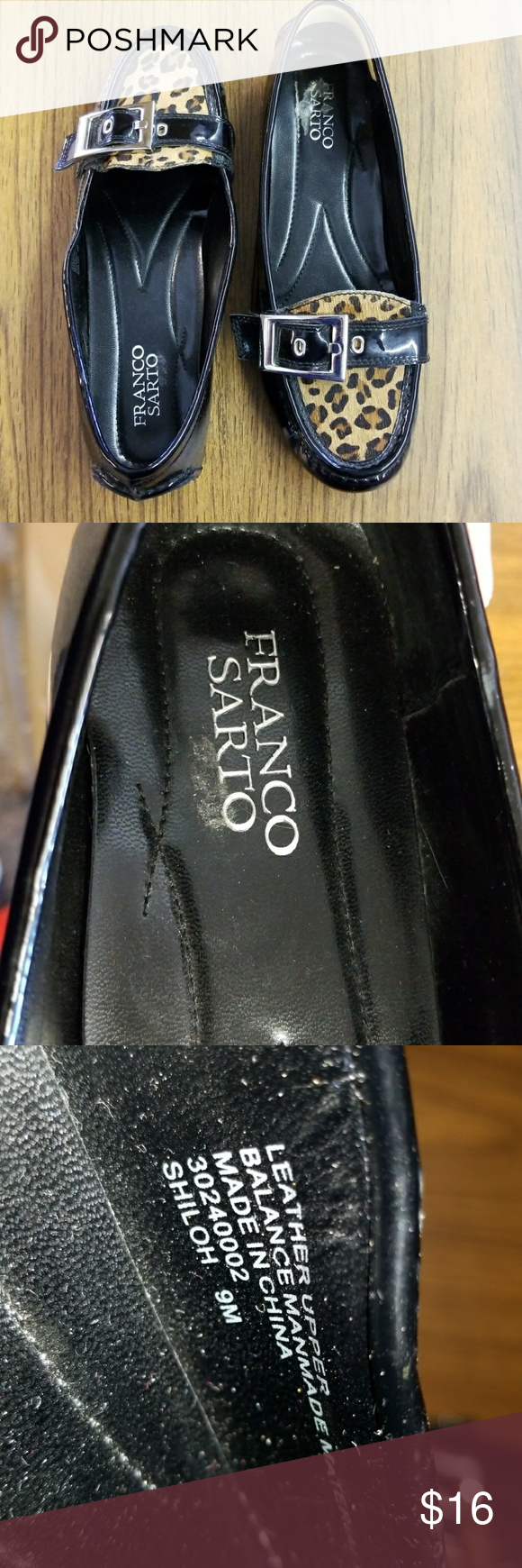 Franco Sarto Flats Franco Sarto flats size 9 Franco Sarto Shoes Flats & Loafers