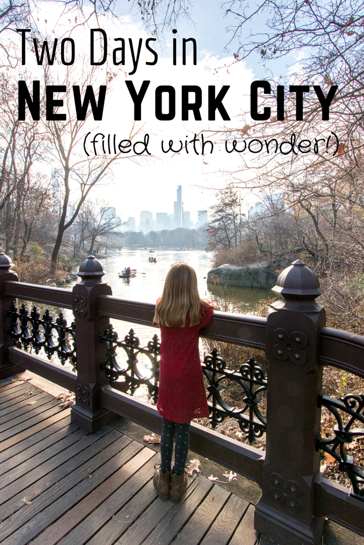 A wonderful new york weekend getaway including a birthday for Weekend getaway in new york