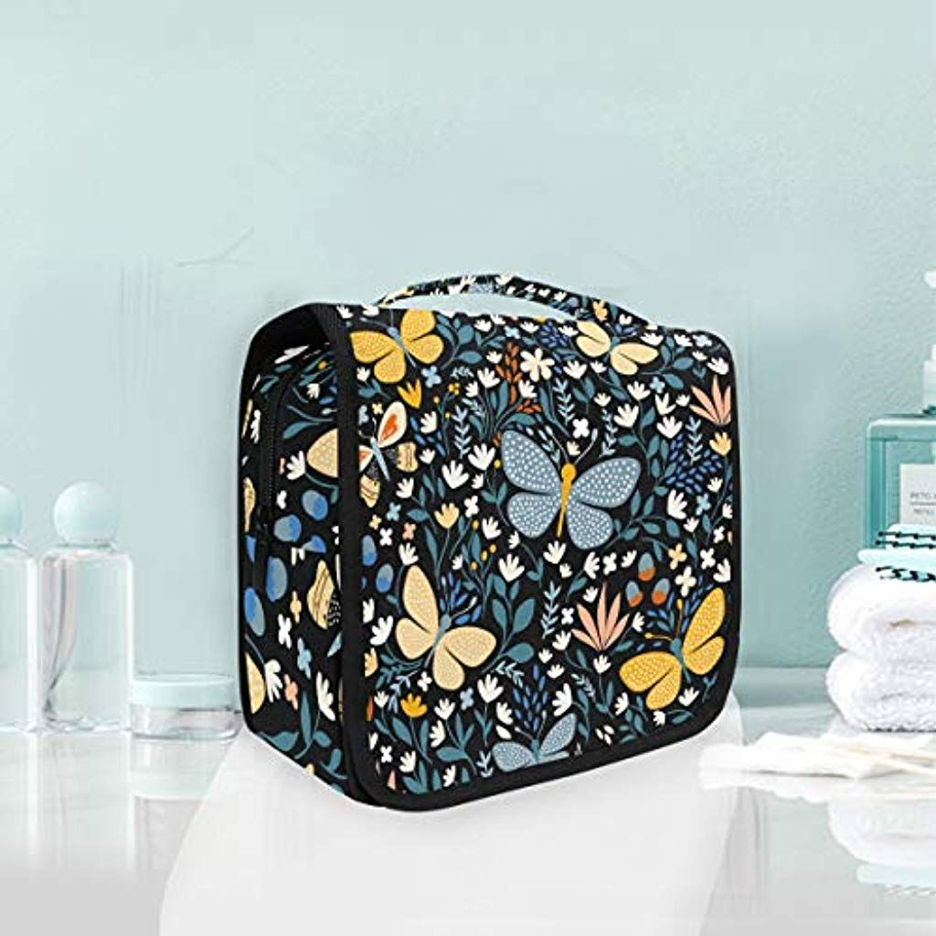 d41d9a3dfbd4 Toiletry Bag Multifunction Cosmetic Bag Portable Makeup Pouch ...